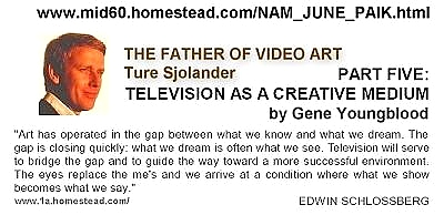 pages 331 334 The Father of Video Art invented Video Art
